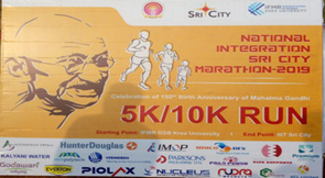 Piolax India has participated in National Integrity Marathon at Sricity